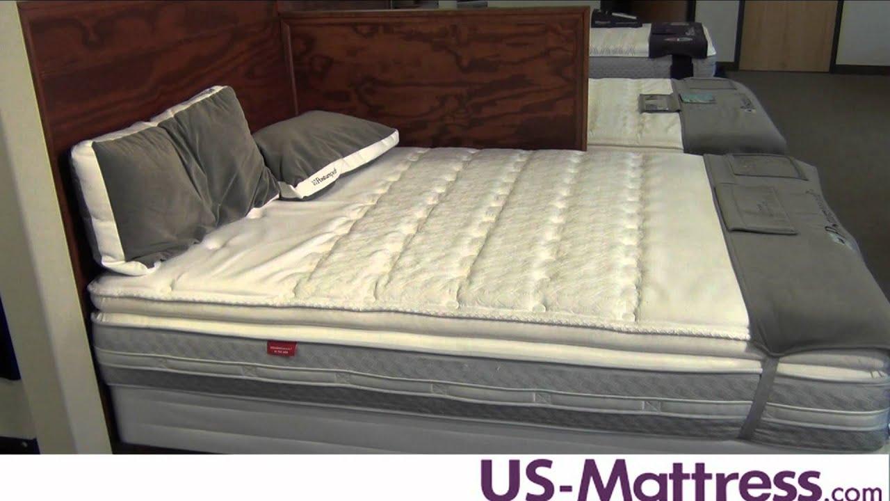 Sealy Posturepedic Hotel Series Sandidge Plush Euro Pillow Top Mattress
