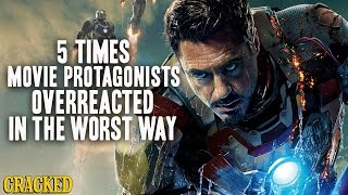 5 Times Movie Protagonists Overreacted In The Worst Way