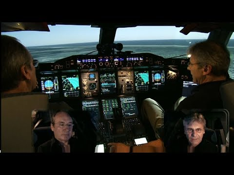 Airbus A380 SIMULATOR - Bird Strike/ Engine fire on Takeoff (ENG sub)