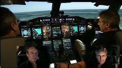 Airbus A380 SIMULATOR - Bird Strike/ Engine fire on Takeoff (ENG sub)