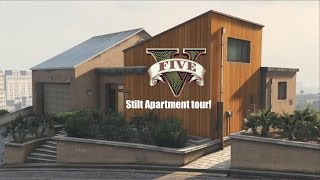Gta 5 new penthouse all interior designs watch the video for Designer apartment gta