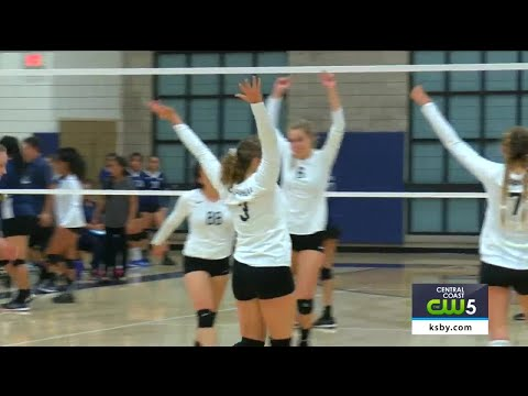 H.S. Girls Volleyball CIF-SS Second Round: La Sierra Academy vs SLO Classical Academy