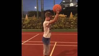 11year olds basketball skills