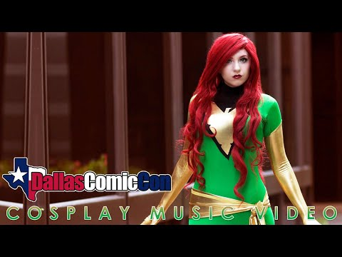 Fan Expo Dallas Comic Con 2015 Cosplay Music Video