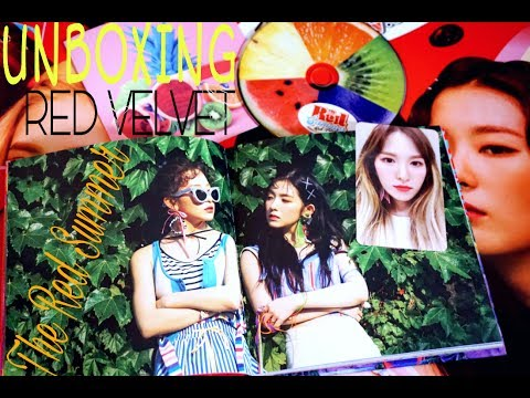 "[UNBOXING] RED VELVET 5th Mini Album ""The Red Summer"" (Red Flavor)"