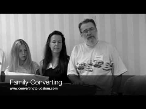 Entire Family Conversion to Judaism