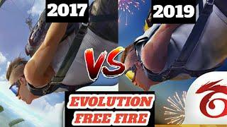 Evolution of Garena Free Fire Free Fire 2017 VS Free Fire 2019 Garena Free Fire Evolution