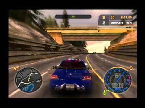 Need For Speed Most Wanted (PS2) Gameplay