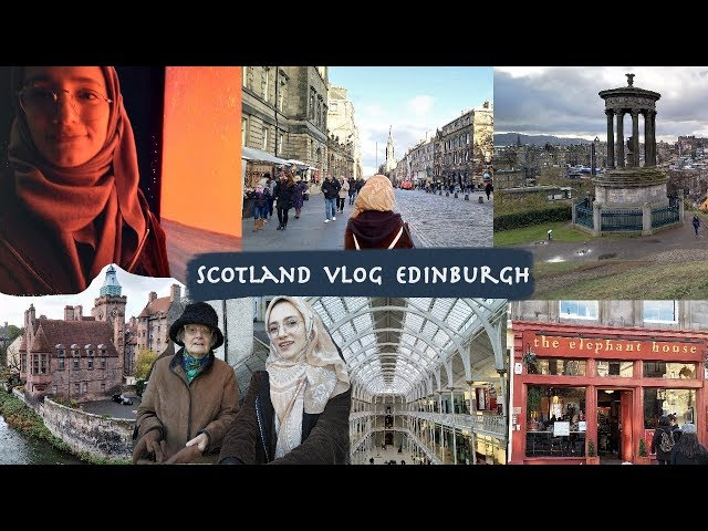İskoçya Vlogu Edinburgh // 3 Days in Edinburgh, Scotland