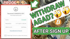 Free BTC instant after sign up withdraw agad||Hourspayday payment proof