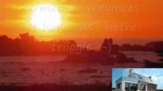Bretagne, Finistère, Cléder : +++ maison location vue mer 180° - plage 100m, 5 Vélos