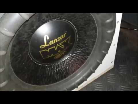 Subwoofer  WB ~WB~ POWER BASS 2.0 - mój pierwszy bass generator na Lanzar MAX 12 - Wytwórnia Basu