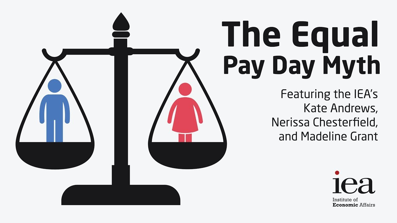 The Equal Pay Day Myth - YouTube