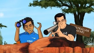 India Vs Australia Mauka Mauka - Virat Kohli And Salman Khan Spoof