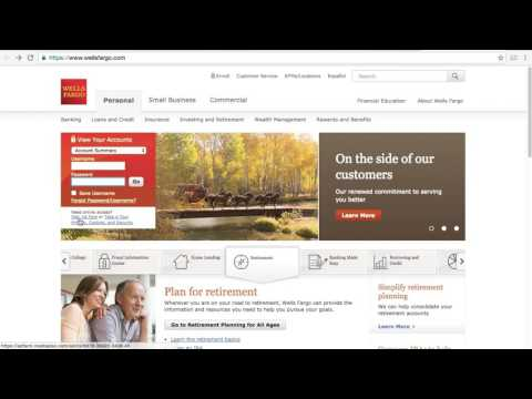 Wells Fargo Online Banking Login / Sign In - I Love My Job
