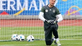 Manuel Neuer, ter Stegen & Leno | Torwart Training Video | DFB