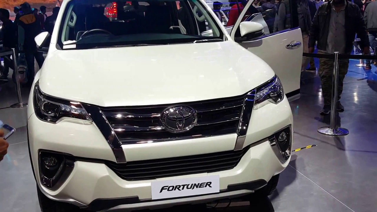 NEW **TOYOTA FORTUNER 2019** || LAUNCHED AT AUTO EXPO ...