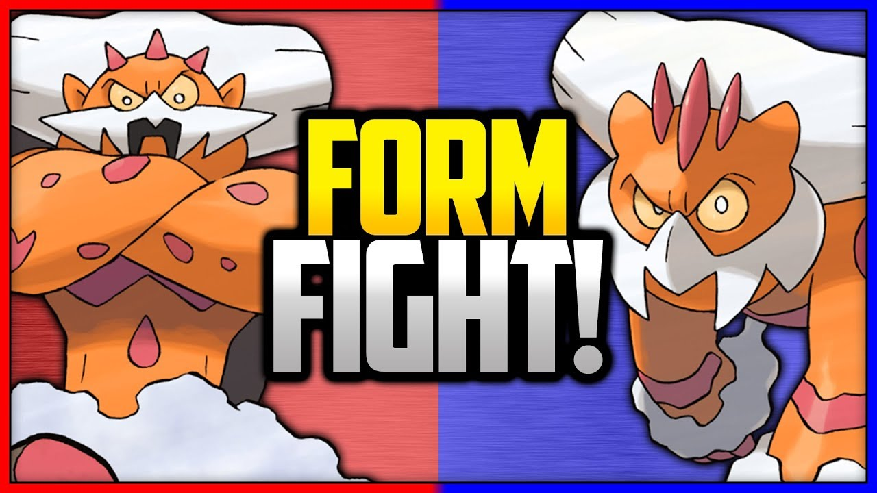 how to change landorus form xy
