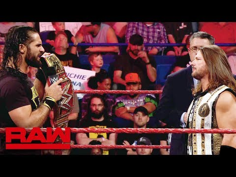 Relive the rivalry between Seth Rollins and AJ Styles: Raw, May 13, 2019