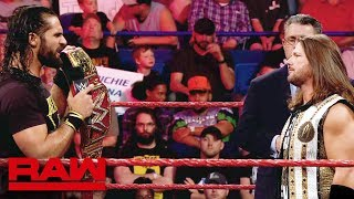 Download Relive the rivalry between Seth Rollins and AJ Styles: Raw, May 13, 2019 Mp3 and Videos
