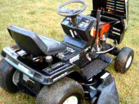 mtd yard machines riding mower  youtube