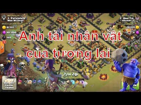 NMT | Clash of clans | chuẩn bài combo boler witch hall 11