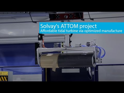 ATTOM project - Affordable tidal turbine via optimized manufacture