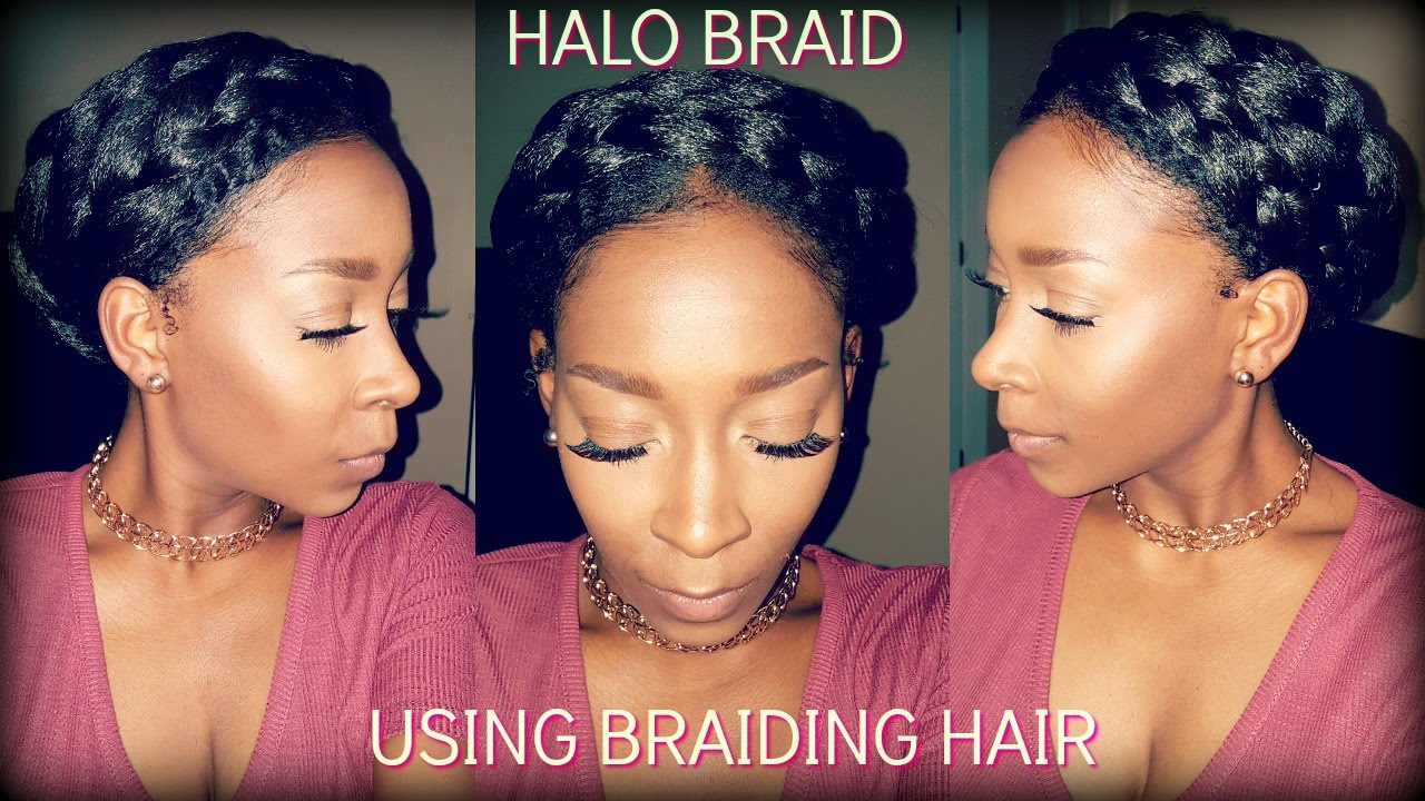 Halo Braid W Braiding Hair Ep 1 Fall Winter Protective Style