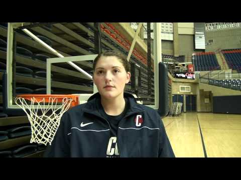 One-on-one with Stefanie Dolson - 10/13/10