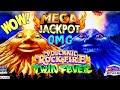 Volcanic Rock Fire Twin Fever Slot Machine 🏆BIGGEST HANDPAY JACKPOT🏆On YouTube ! ★MASSIVE HANDPAY★