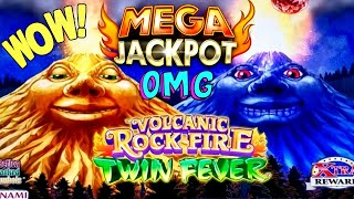 Volcanic Rock Fire Twin Fever Slot Machine 🏆BIGGEST HANDPAY JACKPOT🏆On YouTube ! ★MASSIVE HANDPAY★