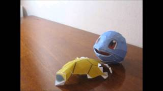 Papercraft Squirtle StopMition C: