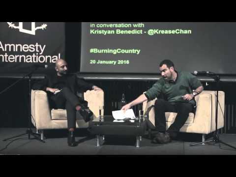 Syria: 'Burning Country' book launch at Amnesty International UK