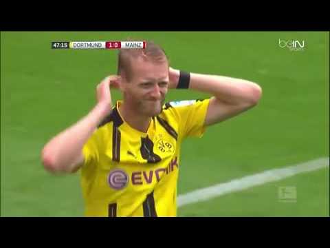 Video borussia dortmund 2 – 1 mainz bundesliga highlights   soccer highlights today   football highl