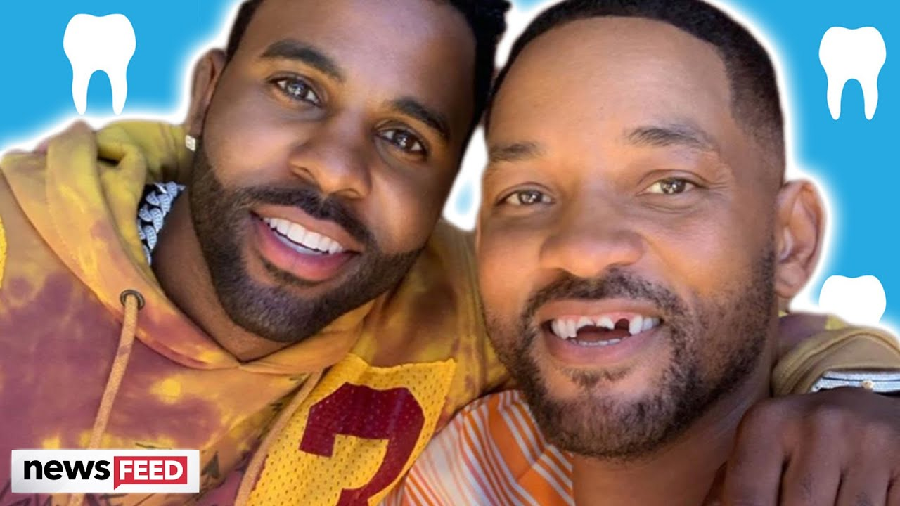 Will Smith's teeth 'knocked out' by Jason Derulo during golf lesson ...