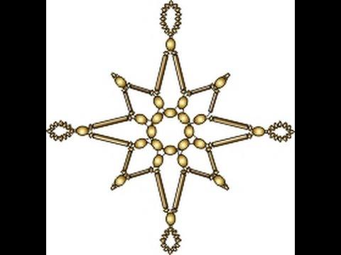 Звезда из бисера и стекляруса. Мульт-мастер-класс