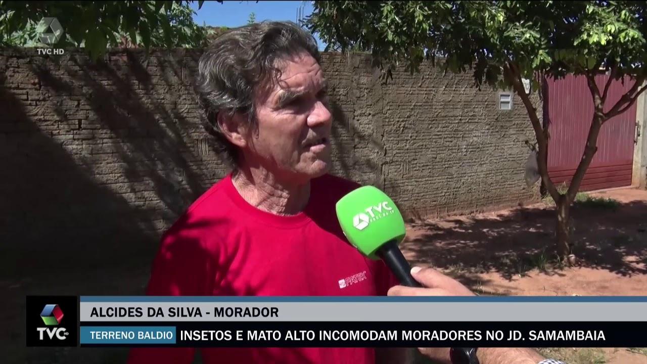 Moradores do bairro Jardim Sambaia reclamam de ruas esburacadas e terrenos baldios