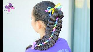 Rainbow Braid | Hairstyles for Girls | Braided Hairstyles | ChikasChicEng