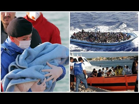 Hundreds feared dead as migrants' boat capsizes off Libya