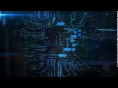 Best technology background video