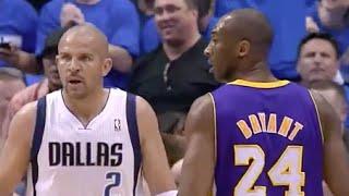 Jason Kidd (Age 38) Great Defense on Kobe Bryant - 2011 NBA WCSF