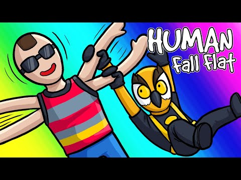 Human Fall Flat Funny Moments - Rubber Moo's First Adventure!
