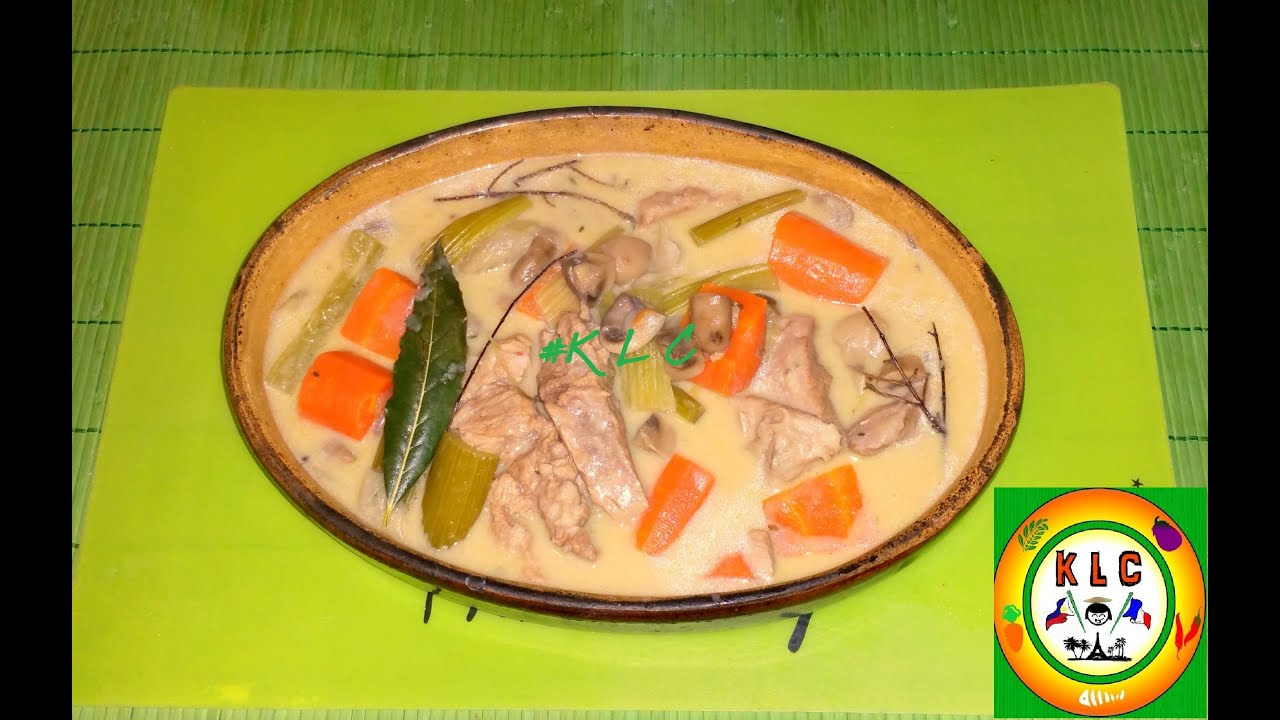 Klc Blanquette De Veau French Veal Stew Ragout Recipe Klc Youtube