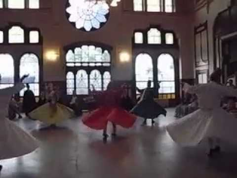 SUFI MUSIC CONCERT AND SEMA (WHIRLING) PROGRAM in Istanbul SIRKECI TRAIN STATION.no.4