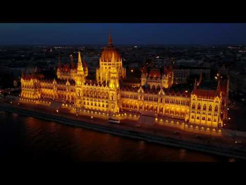Visit the Hungarian Parliament in Budapest as you listen to the Hungarian anthem 4K/UHD