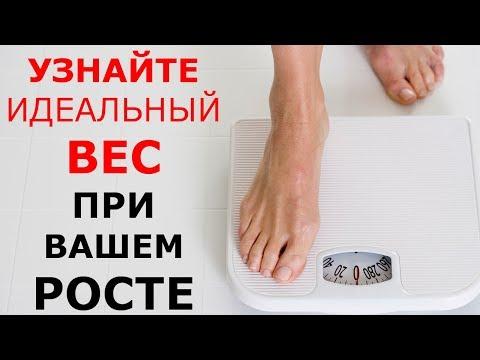 Удивитесь УЗНАВ Какой Вес Должен Быть При Вашем РОСТЕ (т)