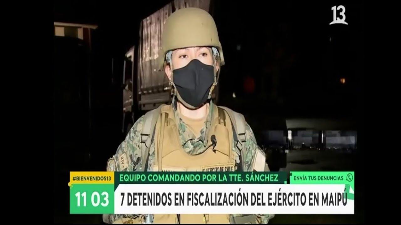 Canal 13 : Patrullaje nocturno en la comuna de Maipú