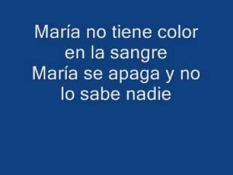 María se bebe las calles - Pasión Vega