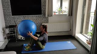 Stability Ball get ups