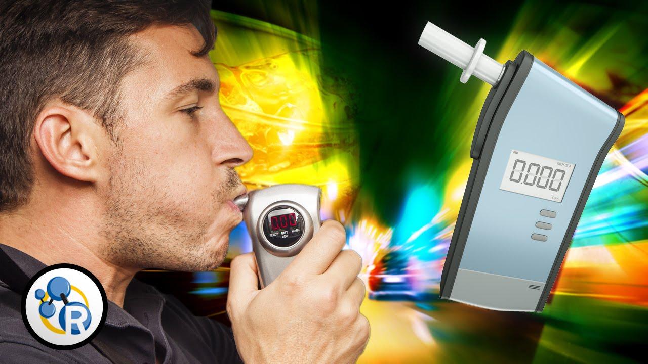 Alcohol Breathalyzer Test >> How Do Breathalyzers Work? - YouTube